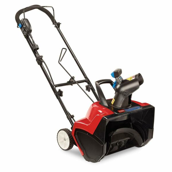 Toro 38381 Electric Snow Blower 18 Inch 15A 1800 Power Curve Outdoor Equipment