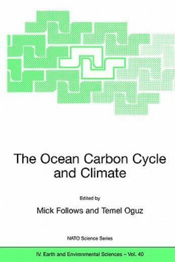 The Ocean Carbon Cycle And Climate $142.43