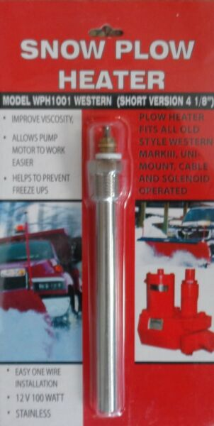 SNOW PLOW HEATER POWER PACK MEYER WESTERN FISHER FREE SHIPPING BRAND NEW MPH1001