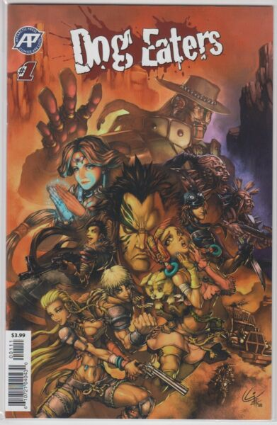 Dog Eaters #1 Guillermo A. Angel Regular Cover C $6.00
