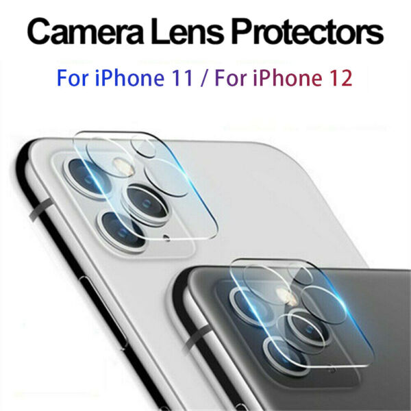 For iPhone 11  11 Pro Max Tempered Glass Camera Lens Screen Protector Cover