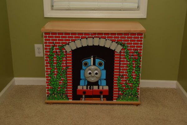 Thomas the Train Tank Engine Toy Locker Cabinet