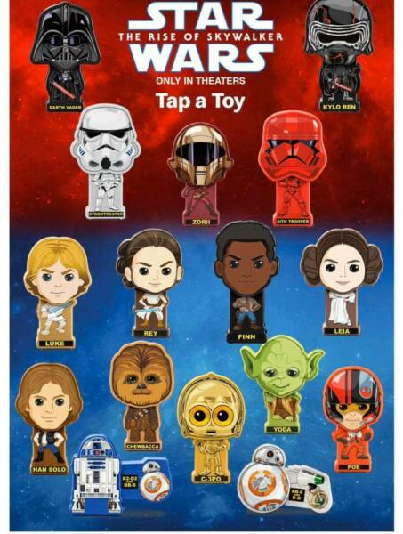 2019 McDONALD'S STAR WARS HAPPY MEAL TOYS! PICK YOUR FAVORITES! *SAME DAY SHIP*