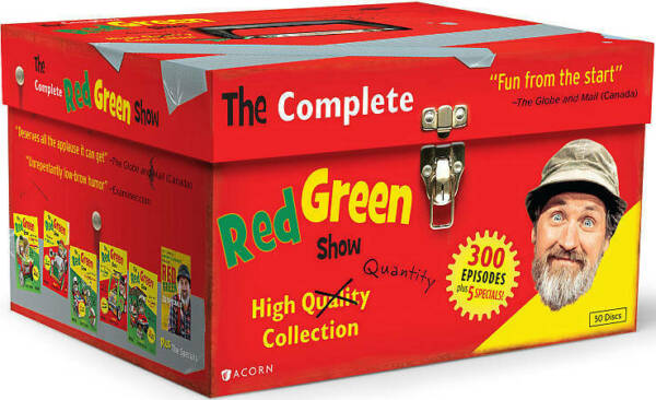 The Complete Red Green Show all seasons and episodes (DVD 2012 50-Disc Set)