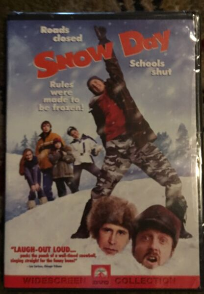 Snow Day (1999) Brand New In Plastic Chevy Chase DVD WIDESCREEN