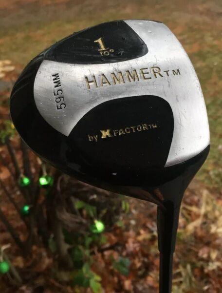 The Hammer X Factor 10* 1 Driver 595mm Graphite Smart Shaft RH Free Shipping