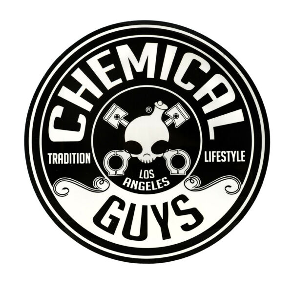 Chemical Guys LAB115 - Chemical Guys Round Decal Sticker 5 Inch
