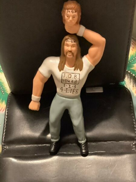 Al Snow with Head VERY RARE - Series 11 Bend Em WWE WWF Action Figure