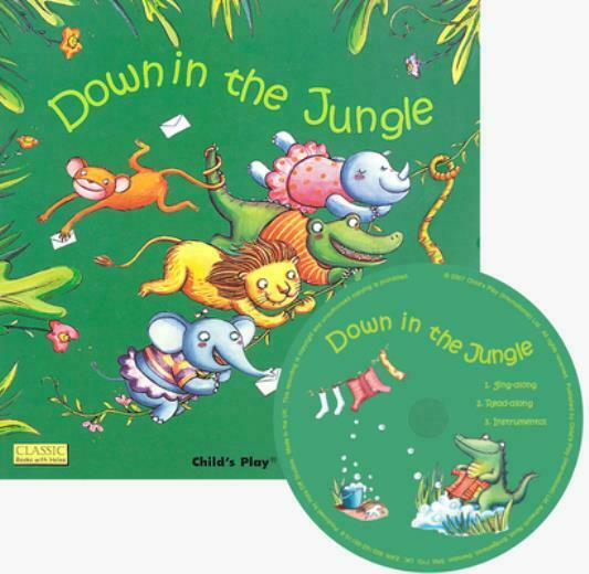 Down In The Jungle With Cd Audio $8.44
