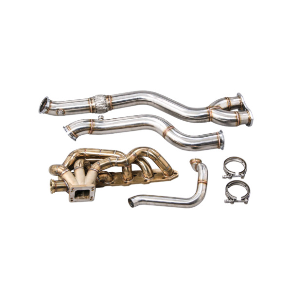 CXRacing Thick Wall Turbo Manifold Kit for BMW E46 M3 with S54 Engine