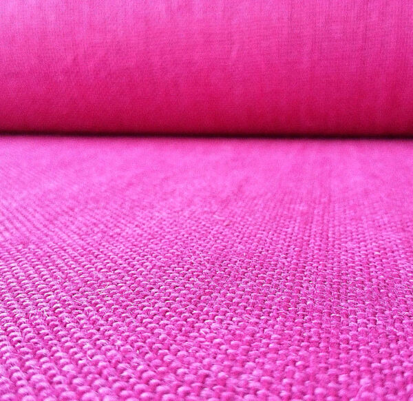 FUCHSIA PINK BURLAP FABRIC 60quot; BY THE YARD 100% JUTE PARTY HOME DECOR CRAFTING