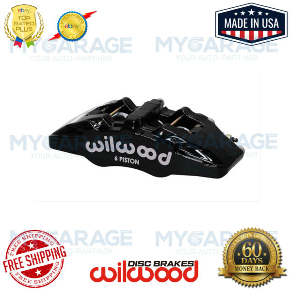 Wilwood DynaPro 6A Piston Forged Caliper Lug Mount Stainless # 120-13439-BK