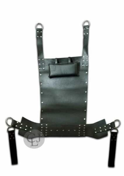 LEATHER SLING SEX SWING HAMMOCK FOR SEX SWING amp; SLING ADULT FUN WITH STIRRUPS $94.99