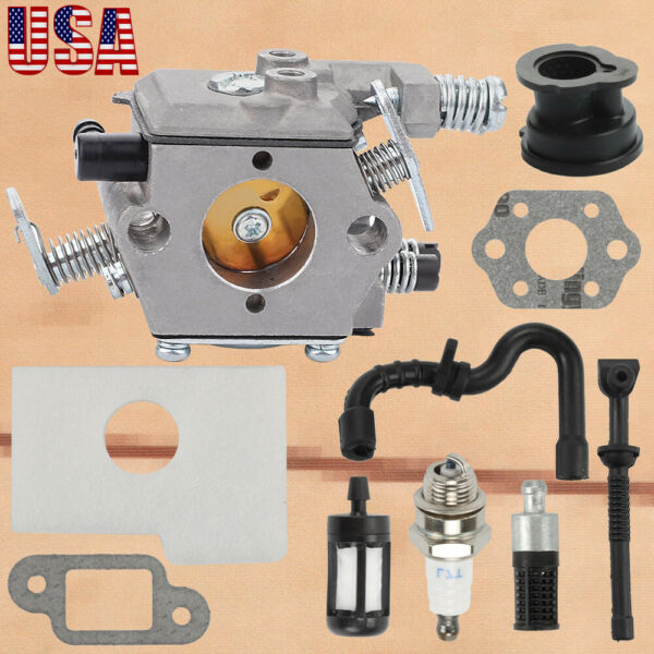 Carburetor Kit For Stihl 018 017 MS170 MS180 Chainsaw 1130 120 0608 Walbro Carb $12.54
