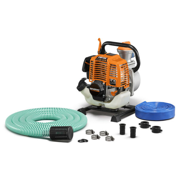 Generac 6917 CW10K 1#x27;#x27; Clean Water Pump with Hose Kit 30 GPM 49 State CSA $249.00