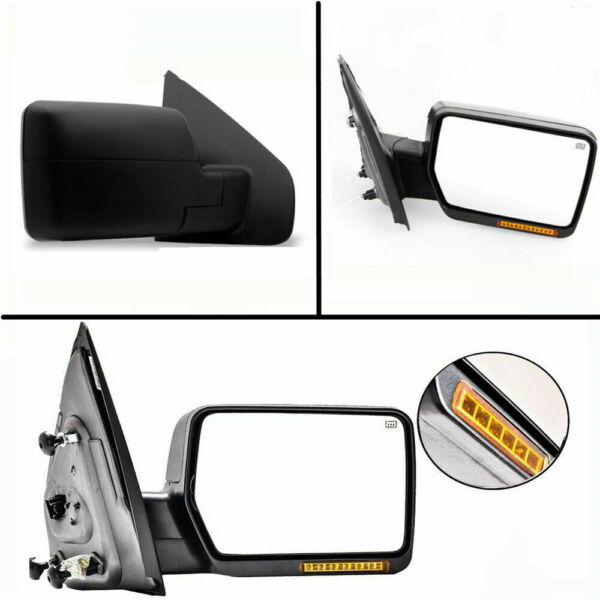2004-2006 04-06 Ford F150 Power Heated Mirror WLED Signal Right Passenger Side