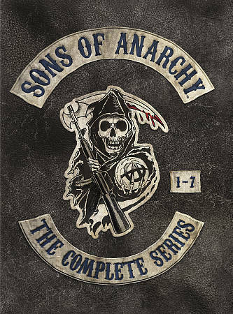 .Sons of Anarchy: The Complete Series seasons 1-7 (DVD 30-discs box set  2015)