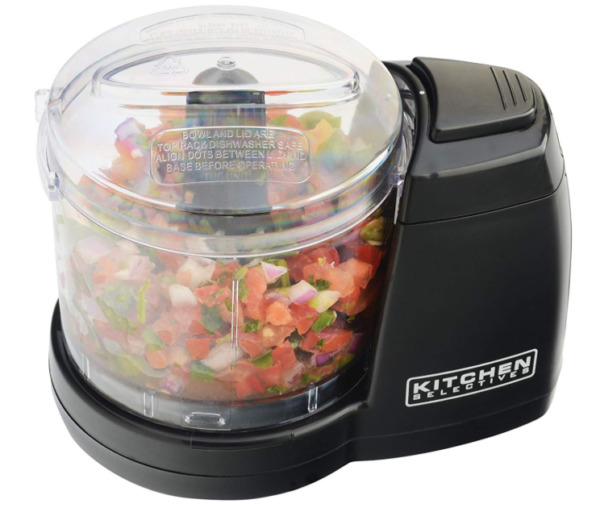 Compact Electric Mini Food Processor Kitchen Chopper Vegetable Dishwashable Safe