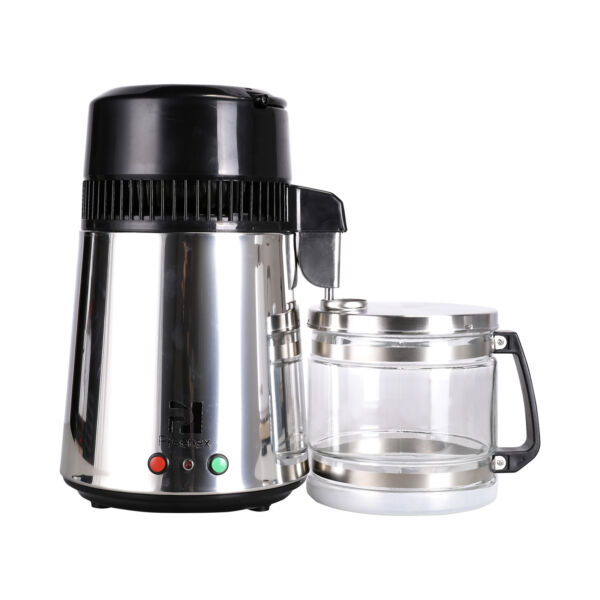 Countertop Water Distiller Stainless Steel 4L 750W 1LH