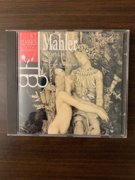 Mahler Symphony No.5 Radio Symphony Orch Ljubljana CD 1994 Point Switzerland