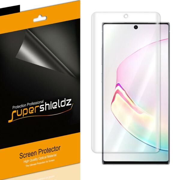 2XSupershieldz Clear Full Cover Screen Protector for Samsung Galaxy Note 10 Plus $6.99