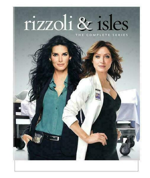 Rizzoli  Isles: The Complete Series (DVD 2017)