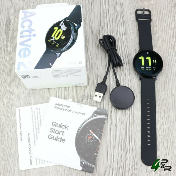 Samsung Galaxy Watch Active 2 SM R820 44mm Aluminum Case with Generic Sport Band $118.99