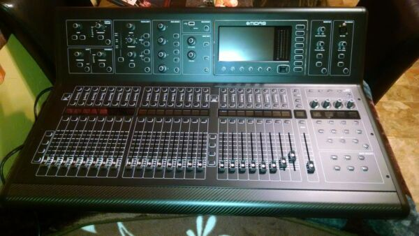 Midas M32 Console With Case + DL32 32 Input Stage Box