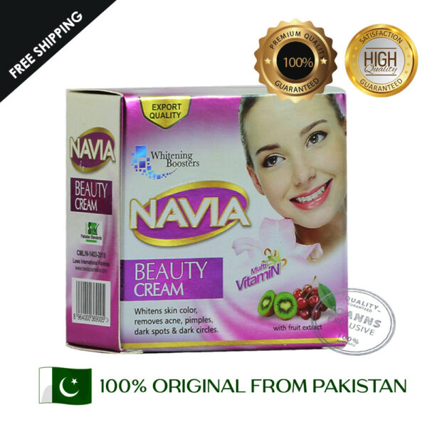 Navia Whitening Fairness Beauty Cream With Fruit extract 100% Original Product