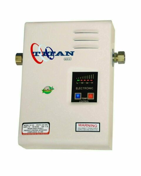 Titan Tankless SCR2 N 120 11.8 Hot Water Heater 220V with FREE same day shippin $243.00