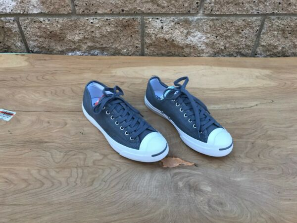 Converse Jack Purcell Low Top Sneaker, Gray , Size 9 US Women / 7.5 Men