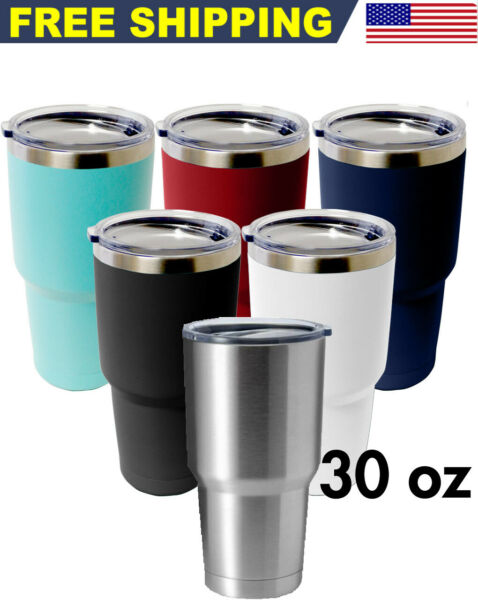 30 OZ Stainless Steel Tumbler Vacuum Double Wall Insulation Travel Mug Coffee