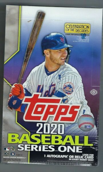 2020 Topps Series 1 Baseball Factory Sealed Hobby Box  1 Silver Pack