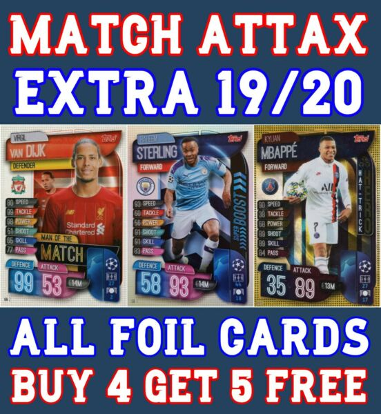 MATCH ATTAX EXTRA 1920 201920 100 CLUB LIMITED EDITION MAN OF THE MATCH HERO