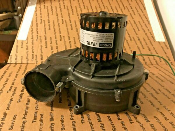 FASCO 70625177 DRAFT INDUCER MOTOR ASSEMBLY E167360A MOD 71623861E 70-24033-01