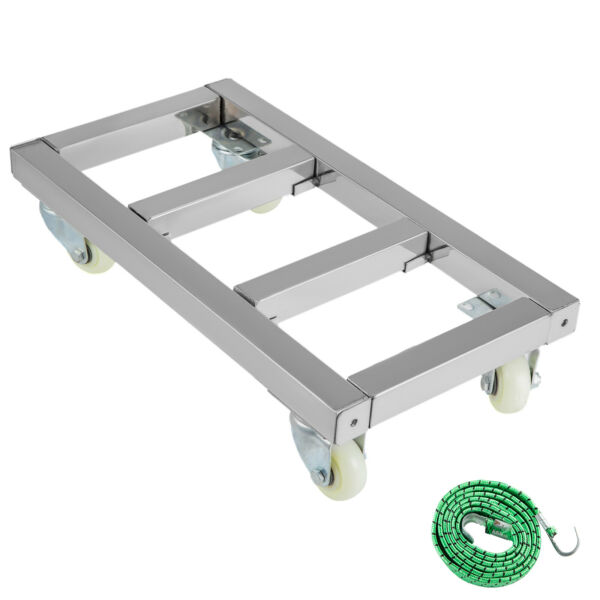 Furniture Mover Dolly Stainless Steel Moving Dolly 12x24 inch for Moving $53.00
