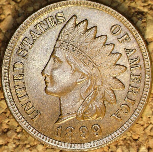 1899 Indian Head Cent - MS+++ SNOW-33  3-STAR RPD  See Description (J613)