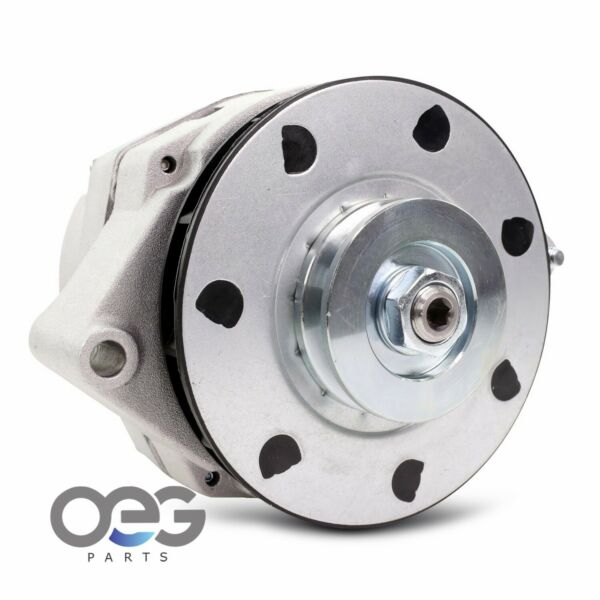 New Alternator Delco 12SI 94 Amp 12 Volt V Drive Pulley CW For AMC GM 1983-1990