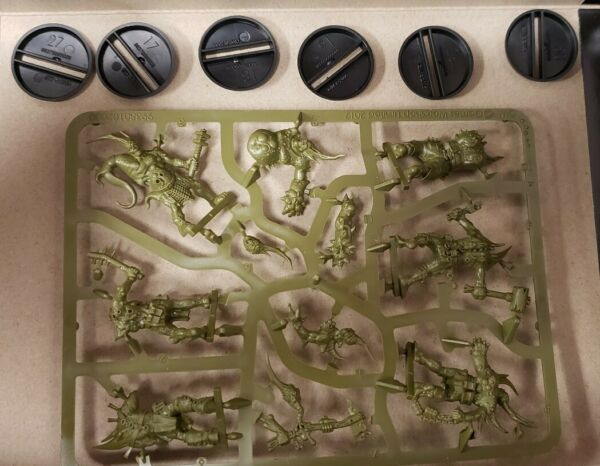 Easy To Build: Death Guard POXWALKERS  Warhammer 40K NOS