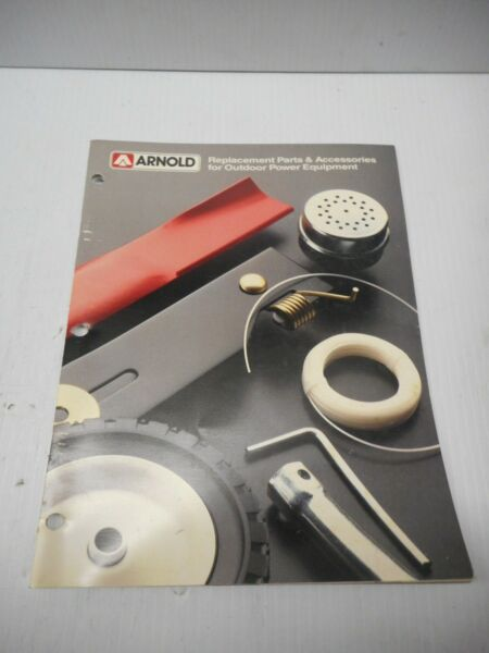Arnold Replacement Parts & Accessories For Outdoor Power Equipment