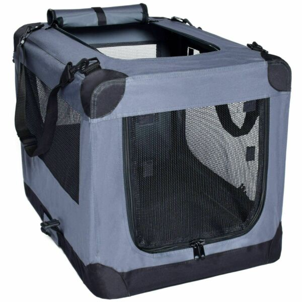 Arf Pets Dog Soft Crate Kennel for Pet Indoor Home amp; Outdoor Use Soft Sided 3 $49.95