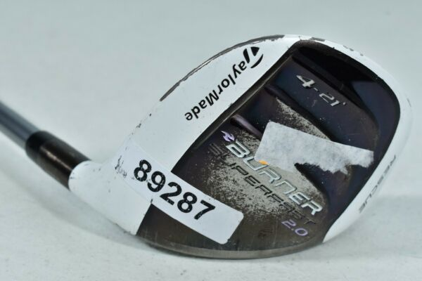 Taylormade Burner SuperFast 2.0 Rescue 4 21* Hybrid Right Ladies Flex # 89287