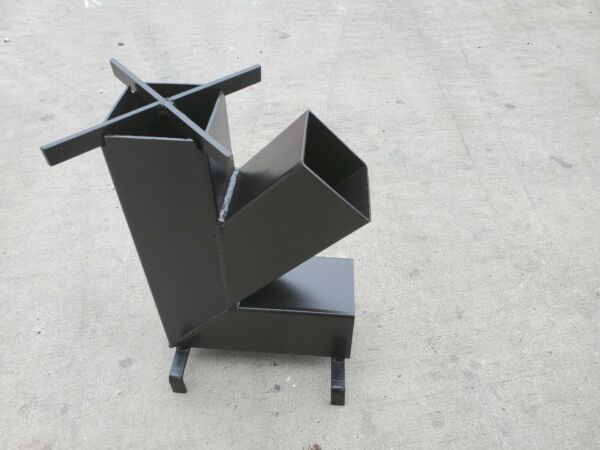 Rocket Stove with *Removable top and Self Feeding* Camping Stove MADE IN NC!