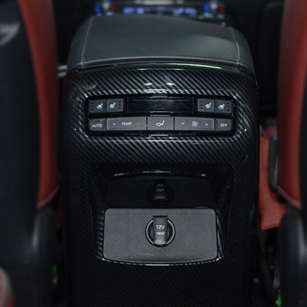 Center Console Carbon Pattern Molding for 2019 2020 Hyundai Palisade $59.94