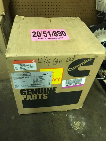 New Onan Generator Rotor And Stator For Model 4ky Spec A-P Part# A053J771