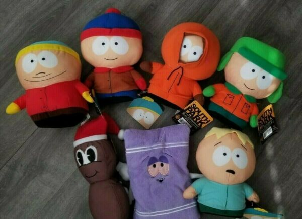 South Park Stuffed Toy Plush 2020 NEW Doll Big 5-10in Official Toy Factory $12.74