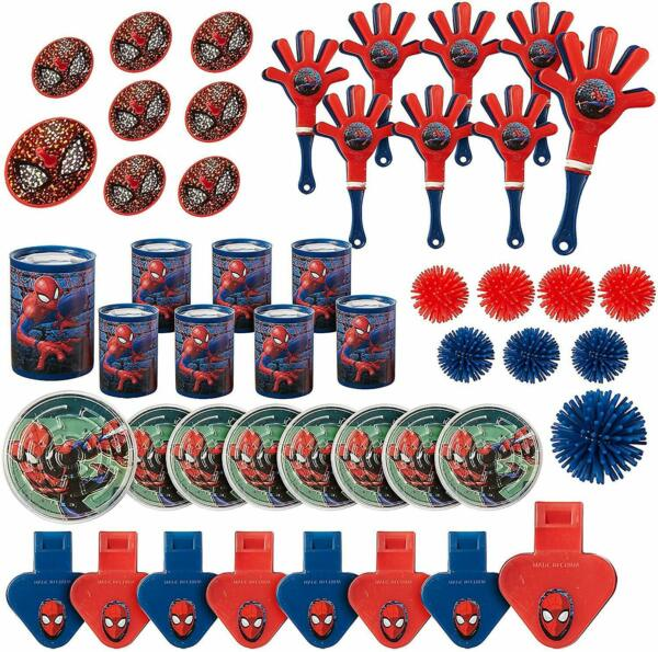 Spider Man Webbed Wonder Party Supplies Theme Birthday Decorations Value Pack