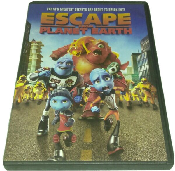 Escape From Planet Earth DVD   $8.99