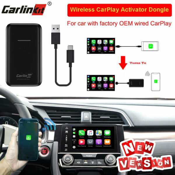 Carlinkit V2.0 Upgrade Wireless CarPlay Activator For Car With OEM Wired CarPlay