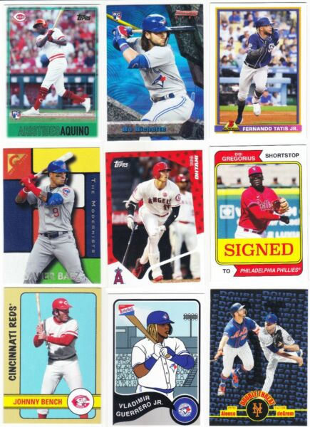 2020 Topps Throwback Thursday - TBT - You Pick Your Cards